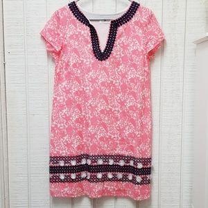 Vineyard Vines pink navy dress 4